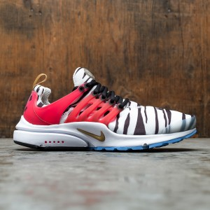 Nike Men Air Presto (white / metallic gold-black-red orbit)