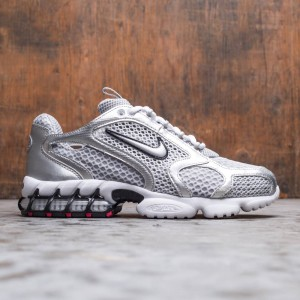 Nike Men Air Zoom Spiridon Cage 2 (lt smoke grey / metallic silver)