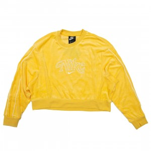 Nike Women Sportswear Long Sleeves Tee (topaz gold)