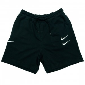 Nike Men Sportswear Swoosh Shorts (black / white)