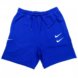 Nike Men Sportswear Swoosh Shorts (deep royal blue / white)