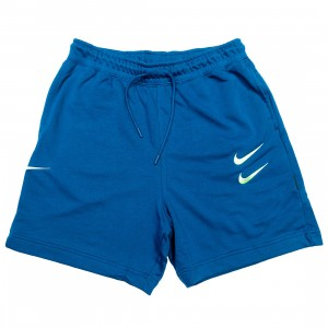 Nike Men Sportswear Swoosh Shorts (blue force / barely volt)