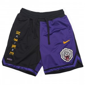 Nike Men Lebron X Atmos Dri-Fit Shorts (black / court purple / black)