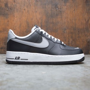 Nike Men Air Force 1 07 Lv8 (black / wolf grey-white)