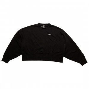 Nike Women Sportswear Essentials Crewneck (black / white)