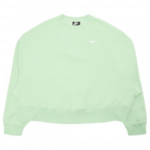 Nike Women Sportswear Essential Crewneck (cucumber calm / white)