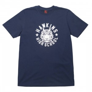 Nike X Stranger Things Men Tee (college navy / sail)