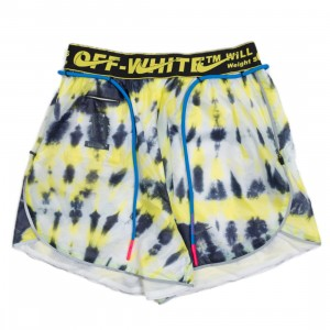 Nike X Off-White Women Nrg #23 Aop Shorts (volt)