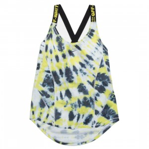 Nike X Off-White Women Nrg As #1 Aop Tank Top (volt)