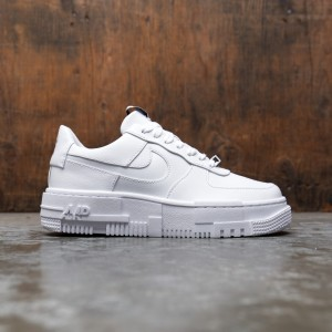Nike Women Air Force 1 Pixel (white / white-black-sail)