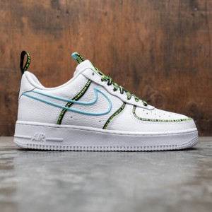 Nike Men Air Force 1 '07 Worldwide (white / white-blue fury-black)