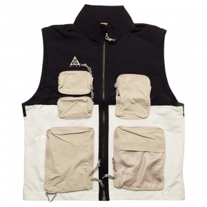Nike Men Acg Vest (black / summit white / string / antique silver)
