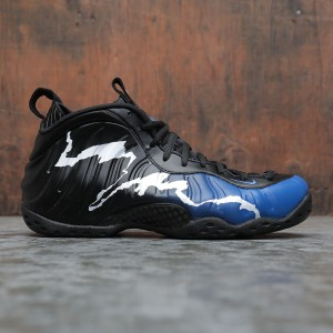 Nike Men Penny Hardaway Nike Air Foamposite One (black / game royal-white-aurora green)