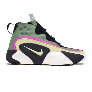 Nike Men React Frenzy (spiral sage / olive aura-black-sail)