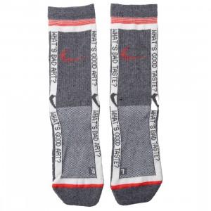 Nike X Off-White Men Socks (grey / total crimson)