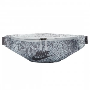 Nike Men Heritage Python Hip Pack (gunsmoke / pure platinum / mtlc dark grey)