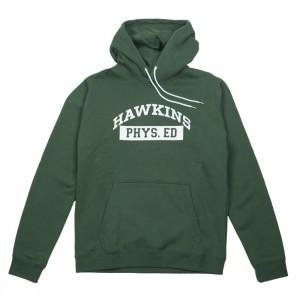 Nike x Stranger Things Men Hawkins High Pullover Hoody (fir / white / sail)