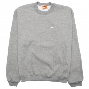 Nike Men Made In The Usa Crewneck (dk grey heather / white)