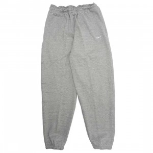 Nike Men Made In The Usa Fleece Pants (dk grey heather / white)