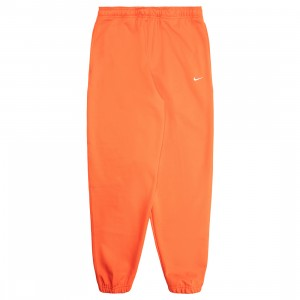 Nike Men Made In The Usa Fleece Pants (team orange / white)