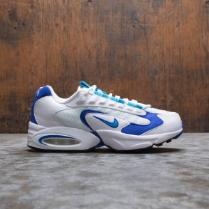 Nike Women Air Max Triax 96 (white / lagoon-newport blue-black)