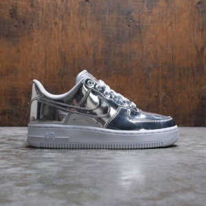 Nike Women Air Force 1 Sp (chrome / metallic silver-white)