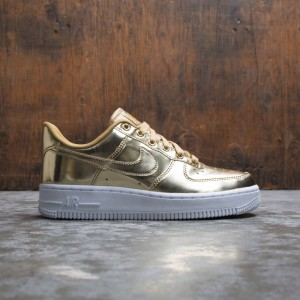 Nike Women Air Force 1 Sp (metallic gold / club gold-white)