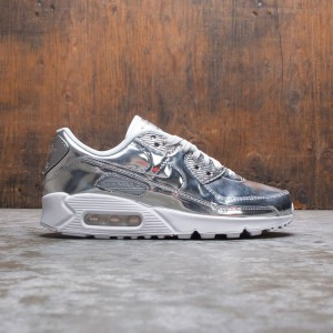 Nike Women Air Max 90 Sp (chrome / chrome-pure platinum-white)