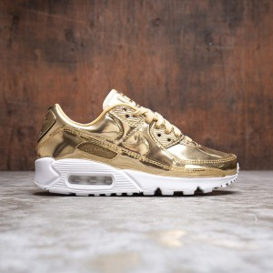 Nike Women Air Max 90 Sp (metallic gold / metallic gold-club gold)