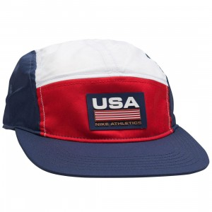 Nike Men Ab Nrg Aw84 Swoosh Stripe Cap Qs (university red)