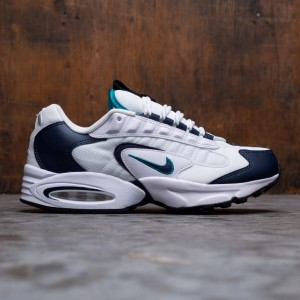 Nike Men Air Max Triax (white / obsidian-deep emerald-black)