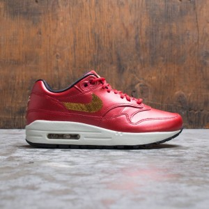 Nike Women W Air Max 1 (university red / metallic gold-black)