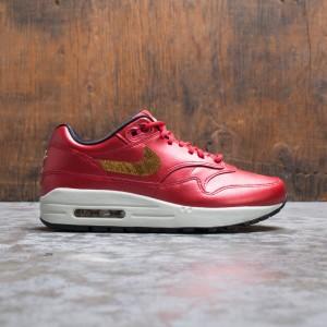 Nike Women W Air Max 1 (university red / metallic gold-black)