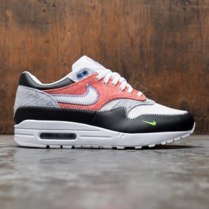 Nike Men Air Max 1 (white / game royal-black-electric green)