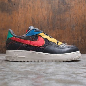 Nike Men Air Force 1 Low Bhm (dk smoke grey / track red-dk smoke grey)