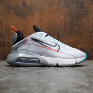 Nike Men Air Max 2090 (white / black-pure platinum-bright crimson)