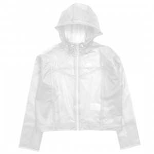 Nike Women Sportswear Windrunner (clear / white / white)