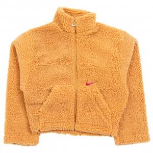 Nike Women Sportswear Swoosh Jacket (flax / cactus flower)