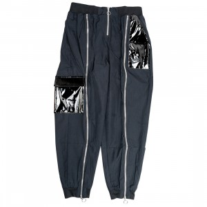Nike Women Sportswear Icon Clash Woven Pants (black / dk smoke grey)