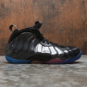 Nike Men Air Foamposite One (black / black-tm royal-tm orange)
