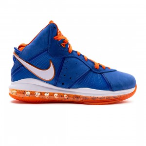Nike Men Lebron 8 Qs (varsity royal / white-orange blaze)