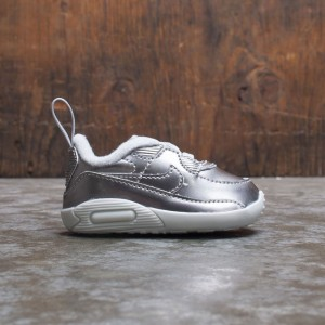 Nike Toddlers Max 90 Crib Qs (chrome / chrome-pure platinum-white)