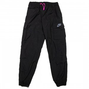 Nike Women Sportswear Icon Clash Pants (black / fire pink)