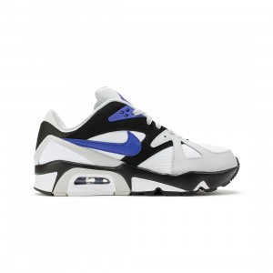 Nike Big Kids Air Structure (grey fog / lapis-black-white)