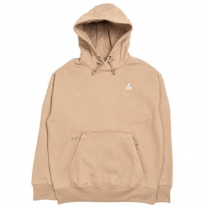 Nike Men Acg Pullover Fleece Hoody (khaki / summit white)