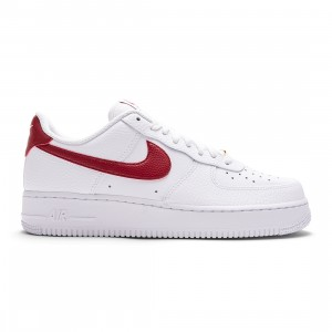 Nike Men Air Force 1 '07 (white / team red-white)