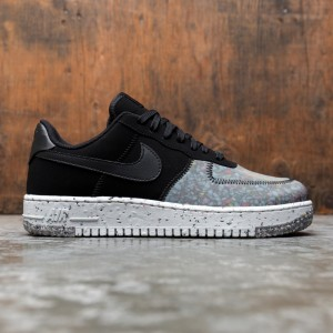 Nike Men Air Force 1 Crater (black / black-photon dust-dk smoke grey)