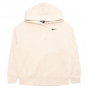 Nike Women Sportswear Fleece Hoody (oatmeal / black)