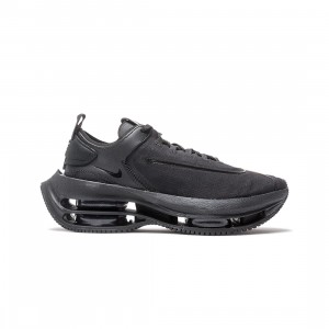 Nike Women Zoom Double Stacked (black / black-black-dk smoke grey)