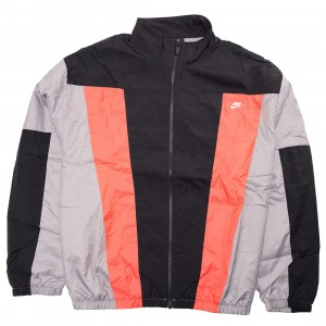 Nike Men Sportswear International Jacket (black / particle grey / ember glow)